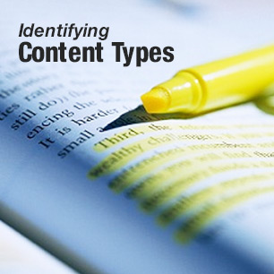 Identifying Content Types
